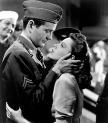 Robert Walker as Corporal Joe Allen and Judy Garland as Alice Mayberry